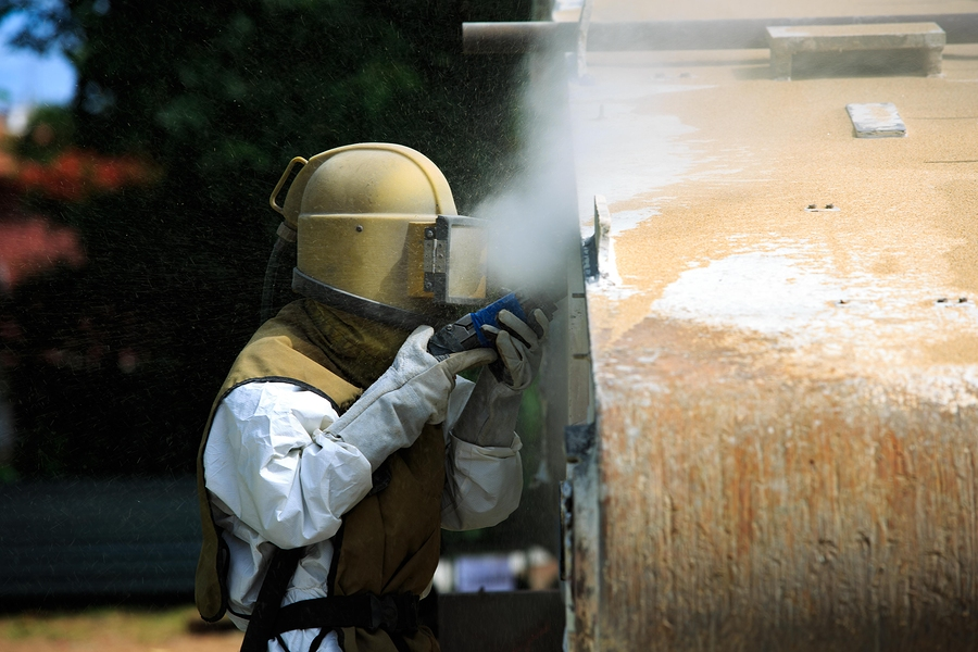 Industrial Equipment Sandblasting in Orillia Ontario